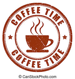 Coffee time stamp