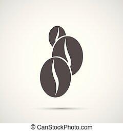 Coffee vector design. Bean icon