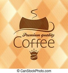 coffee vintage background