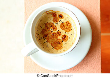 coffee white cup