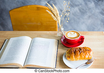 coffee with bread
