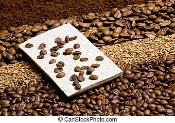 coffee with coffee chocolate