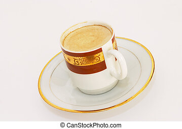 Coffee with cream 2