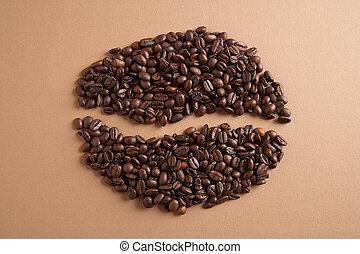 coffeebean, -, kaffebohne