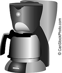 Coffeemaker - A 3D illustration of a Coffeemaker, isolated...