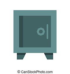 coffre-fort, sécurité, symbole, argent
