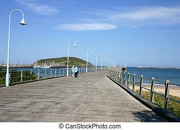 Coffs Harbour Jetty - New South Wales Australia