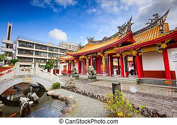 Shrine in Nagasaki - Cofucius Shrine in Nagasaki, Japan