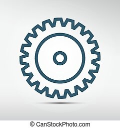 Cog - Gear Vector Icon
