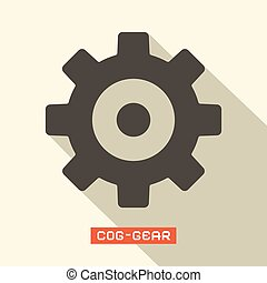 Cog - Gear Vector Symbol
