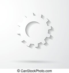 Cog Settings Icon Symbol