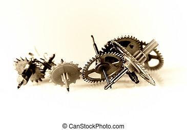 cog wheel - clock mechanism