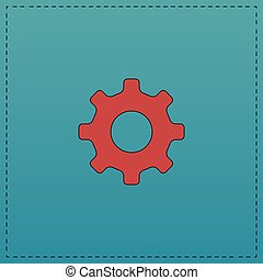 cog wheel computer symbol