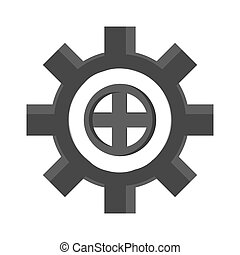 cog wheel industry icon