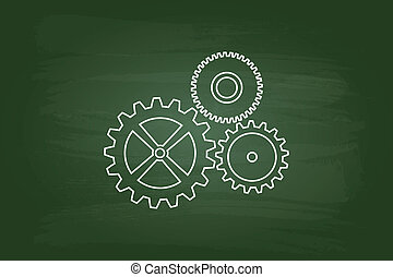 cog, wielen, mechanisme