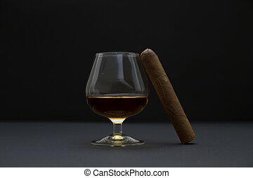 Cognac and Cigar