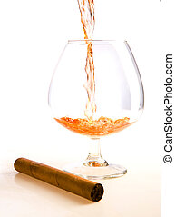 Cognac & cigar