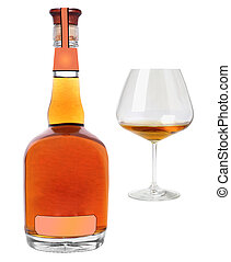 cognac with glass