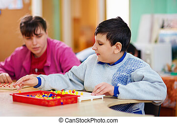 cognitive development of kids with disabilities