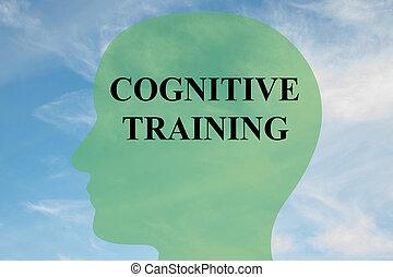 Cognitive Training - mental concept - Render illustration of...