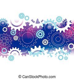 cogs, abstract, achtergrond