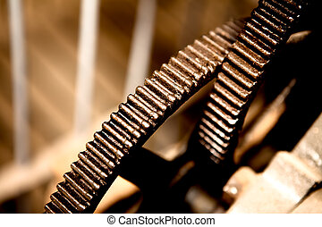 cogs, abstract