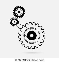 Cogs - Gears Illustration