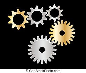 cogs (gears)
