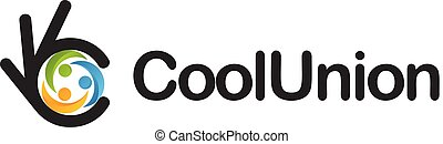 Cohesion icon. Ok symbol, Okay vector logo, high quality