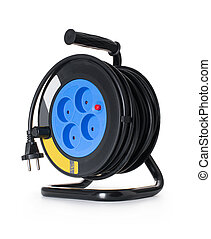 coil, electrical extension cord