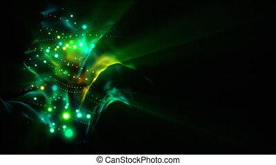 Coil of lights loop