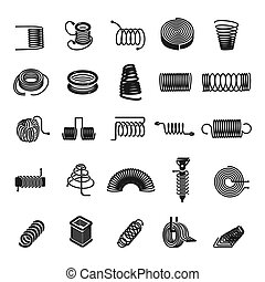 Coil spring Clip Art and Stock Illustrations. 2,701 Coil ...