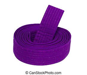 Coiled Karate Purple Belt - Coiled karate purple belt ...