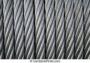 coiled wire rope 2 - coiled stainless steel wire cable/rope