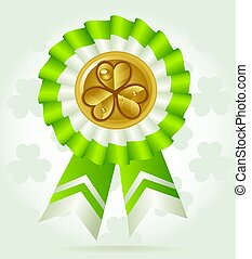 Coin-award on St. Patric K`s Day