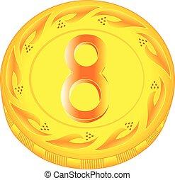 Coin eight