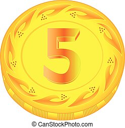 Coin five