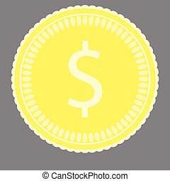 Coin gold money