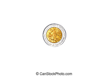 Coin Mexican 1992 Back