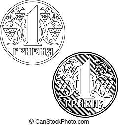 Coin of Ukraine