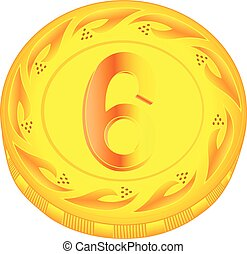 Coin six
