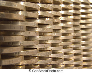 wall of money (perspective)