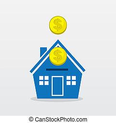 coins, casa