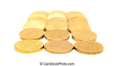 Coins gold.