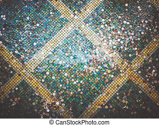 coins in a fountain
