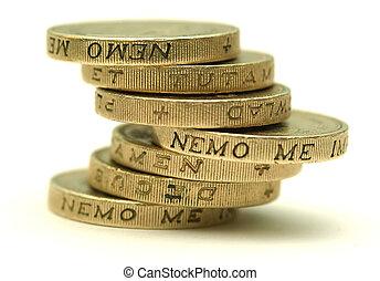 coins, libra