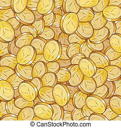 coins, oro
