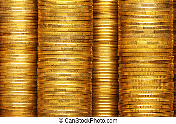 coins stack background