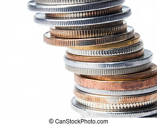Coins tower