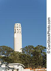 Coit, torre,  Francisco,  San